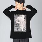 nanaqsaのtalk to me Big silhouette long sleeve T-shirts