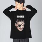 Hitoshi KurokiのROOKIE Big silhouette long sleeve T-shirts