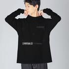 coco70の[ VIRTUAL ] IMAGE - T Big Silhouette Long Sleeve T-Shirt