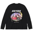 Hitoshi KurokiのSISTERS Big silhouette long sleeve T-shirts