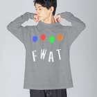 TuneBsideのFWAT Big silhouette long sleeve T-shirts