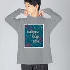 oka__のbotanical Big Long Sleeve T-shirt