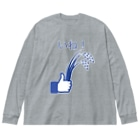TuneBsideのいね! Big silhouette long sleeve T-shirts