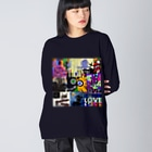 DIRTY FRIENDsのfrom.A Big silhouette long sleeve T-shirts