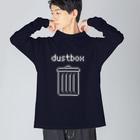 TuneBsideのdustbox Big silhouette long sleeve T-shirts