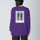 よしもと芸人オフィシャルショップのzakkaYOSHIMOTO ミキ Big silhouette long sleeve T-shirts