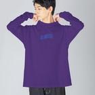 コ八ルのno matter... Big silhouette long sleeve T-shirts