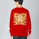 SHUNZO 1号店【DEEP&CORE】のHealing mosaic Big silhouette long sleeve T-shirts