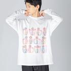よシまるシンのZUNINGEN Big silhouette long sleeve T-shirts