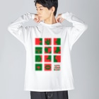 Seto HiroakiのLOVE SOMEBODY Big silhouette long sleeve T-shirts