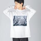 coco70のby my side ロンT by coco70 Big silhouette long sleeve T-shirts