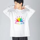 JaCMO応援ショップのJa CMOチームTシャツ Big silhouette long sleeve T-shirts