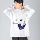 ダイスケリチャードのILL21 Big silhouette long sleeve T-shirts