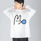 あらゐけいいちのマスター(レム) Big silhouette long sleeve T-shirts