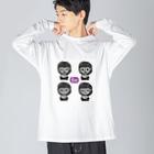 リブログ公式ショップのいろいろノビィ Big silhouette long sleeve T-shirts