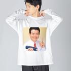 鉄道博士 / Dr.Railwayの鉄道博士 / Dr.Railway Big silhouette long sleeve T-shirts