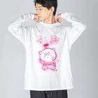 スタジオ嘉凰の仁義 Big silhouette long sleeve T-shirts