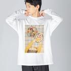 高橋ひでみのクッキー…じゃない🍪🧵 Big silhouette long sleeve T-shirts