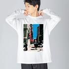 IORI KIKUCHIのBoston Big Long Sleeve T-shirt