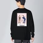 よしもと芸人オフィシャルショップのzakkaYOSHIMOTO 和牛 Big Silhouette Long Sleeve T-Shirt