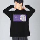 かっきーJapanのYAMI Big silhouette long sleeve T-shirts