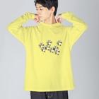 redpigeonのPPPANDA8ワールド Big Silhouette Long Sleeve T-Shirt