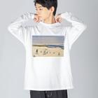 金木犀のウィンタースポーツ Big silhouette long sleeve T-shirts