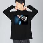 GENKI TAKEBUCHIのElbow Big silhouette long sleeve T-shirts