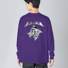𝔛4𝔄𝔛の【X RŌ害殺処分 X】 #2 Big silhouette long sleeve T-shirts