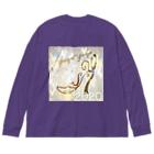ゆうや佑哉のゆうや佑哉ビッグシルエットロンT2020秋冬A Big silhouette long sleeve T-shirts