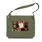 aa100099uの思い出のFlower Big shoulder bags