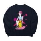 Oedo CollectionのTravel Girl/ビッグシルエットスウェット Big silhouette sweats