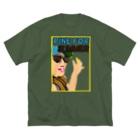 栗ののぐちゃん Big Silhouette T-Shirt