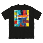 DURINGEXPERIMENTのDET-T-04 Big silhouette T-shirts