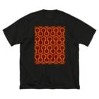stereovisionのオーバールック・ホテルのカーペット Big silhouette T-shirts