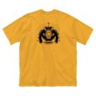 erubakki_yojitaのerubakki_ケモノの遺伝子 Big silhouette T-shirts