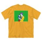 CHEBLOのロケパシリーズ  Big silhouette T-shirts