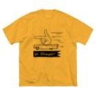 イトスク のGo Straight! Big silhouette T-shirts