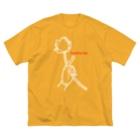 Bo tree teeのLotus(復刻版) Big silhouette T-shirts