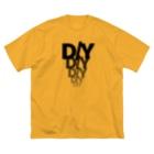 陰陽工房FX(がんばれ代表取締役)のドルエンラブ Big silhouette T-shirts