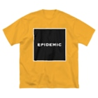 EPIDEMICのEPIDEMIC square Big silhouette T-shirts