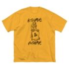 OGYショップのKOUME&AOUME_TATE Big silhouette T-shirts