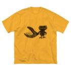 "Dark blancoのDark blanco ""Monster 21"" Big silhouette T-shirts"