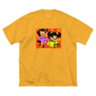 Rememberのシマハナ Big silhouette T-shirts