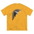 しまのなかまfromIRIOMOTEのAWZオオアリクイ(大) Big silhouette T-shirts