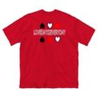 VIVUYAのLOVE DAY  Big silhouette T-shirts