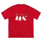 モンゴイカンパニー 販売部のSTAY HOME モンゴイカ Big silhouette T-shirts