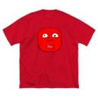 きもたらショップのきもたら/あろえ美化ver Big silhouette T-shirts