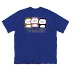 SUZURI×ヤマーフのムーネフ Big silhouette T-shirts