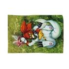 BARE FEET/猫田博人のおひるねブランケット Blankets